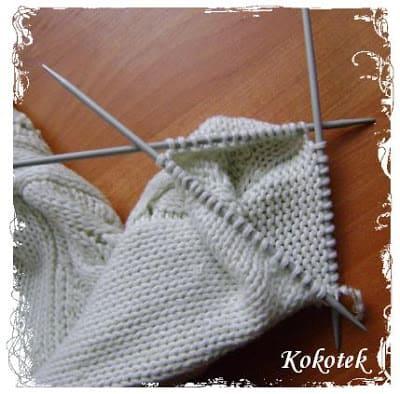 skracanie swetra