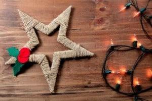 jak zrobić gwiazdę naBoże Narodzenie