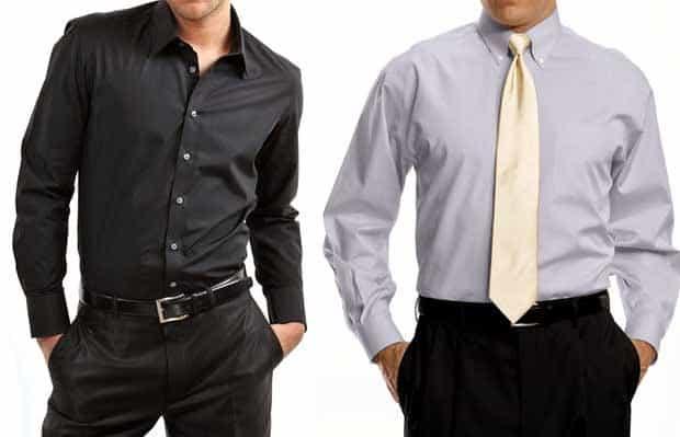 Kiedy krótki, a kiedy długi rękaw przy koszuli męskiej?