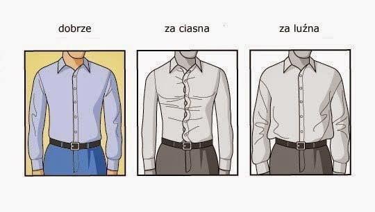 rozmiar koszuli,dobieranie koszuli, dopasowanie koszul, wybranie rozmiaru koszuli, rozmiar rękawów wmęskiej koszuli,