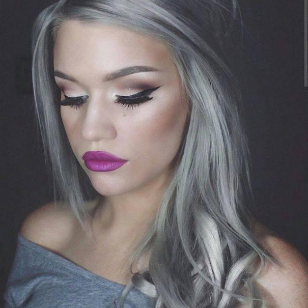 Granny Hair Moda Na Siwe Włosy