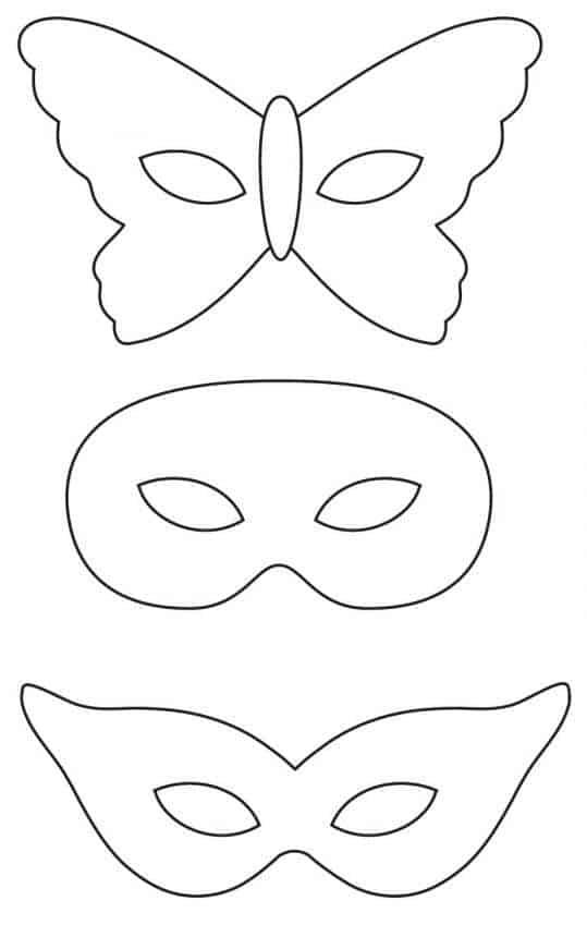 maska nakarnawał szablon,maska nakarnawał, jak zrobić maskę nakarnawał, wycinanie maski karnawałowej, wzór maski nakarnawał