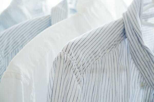 wybielanie prania naturalnymi metodami, wybielanie koszul, jak wybielić pracnie