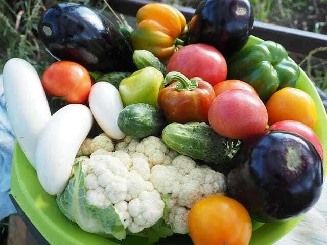 Warzywa iowoce - dieta