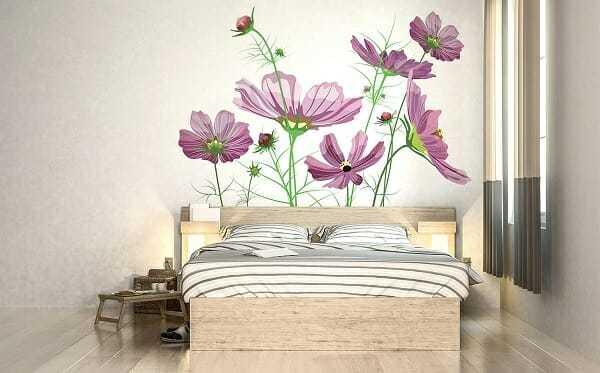 Naklejki ścienne do sypialni – pomysły na ciekawą aranżację