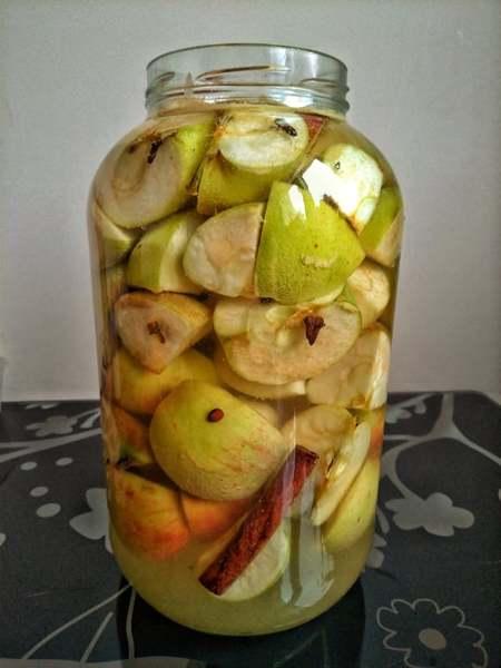 przepis nakiszone jabłka